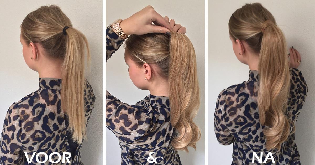 ponytail-voor-en-na