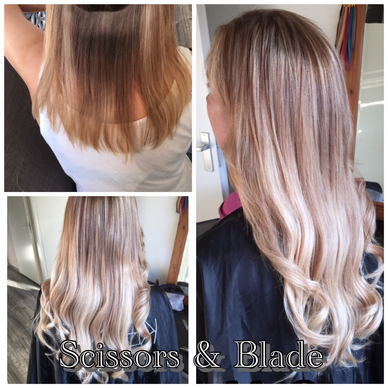 scissors-blade hairextensions