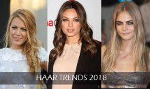 Deze haar trends zijn in 2018 helemaal hot..