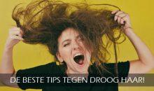 De beste tips tegen droog haar