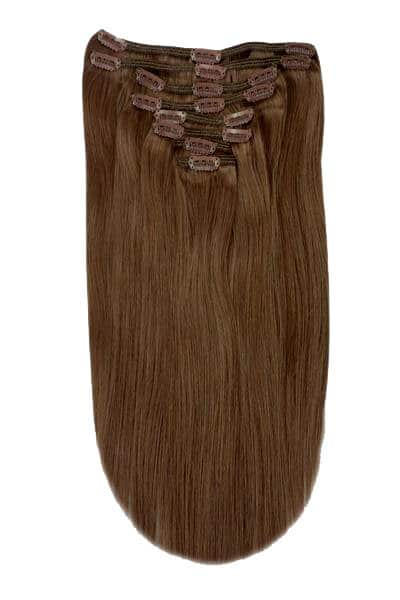 clip in extensions mousey brown 6b