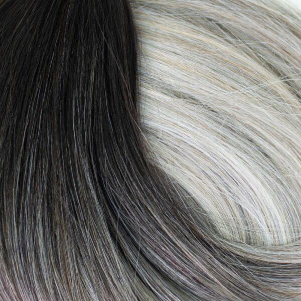 Silver-Ombre-clip-in-extensions-CLOSE