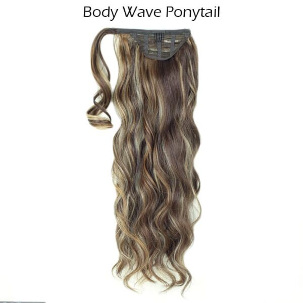 Ponytail-Mixed-Mat-Brown-Body-Wave 1